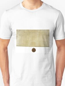 New York Ratification of the Bill of Rights (March 27, 1790) T-Shirt