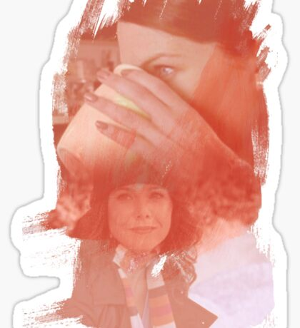 Lorelai Gilmore - brush effect Sticker