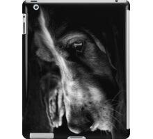 Those Sad Basset Hound Eyes iPad Case/Skin