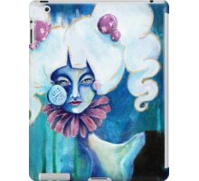 Lowbrow Art Marguerite Daisy woman with a Flower & Pill Cheek iPad Case/Skin