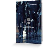 BTS Fire #6 Greeting Card
