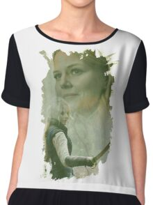 Emma Swan - brush effect Chiffon Top