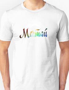 Мечтай dream russian colorful cosmic word quote design T-Shirt