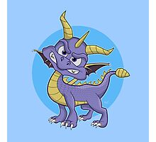 Spyro the Dragon Inspired Art Print Photographic Print