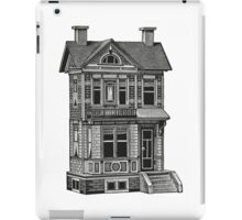 Doll house drawing iPad Case/Skin
