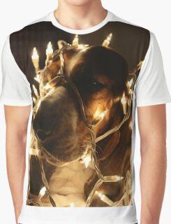Christmas Cheer Basset Graphic T-Shirt