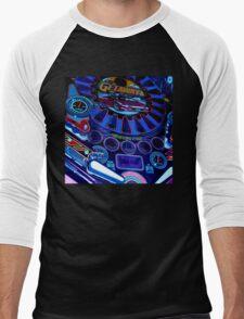 pinball fade Men's Baseball ¾ T-Shirt