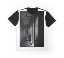 Shadowy Corridors Graphic T-Shirt