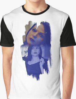 Regina Mills - brush effect Graphic T-Shirt
