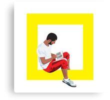 Read Square Canvas Print