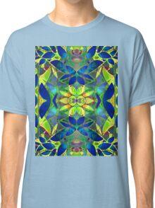 Floral Fractal Art Classic T-Shirt