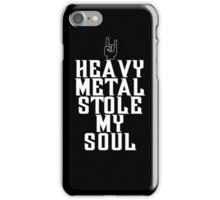 Heavy Metal Stole My Soul iPhone Case/Skin