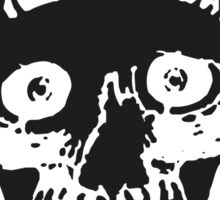 Suicidal Tendencies skull drawing Sticker