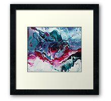 Arcanum - Modern Abstract painting Framed Print