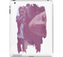 Kate Beckett - brush effect iPad Case/Skin