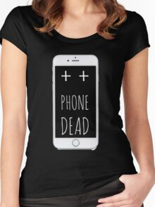Dead Phone Women's Fitted Scoop T-Shirt