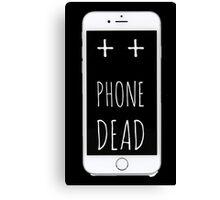 Dead Phone Canvas Print