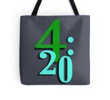 420 Cannabis National Smoking Time Tote Bag