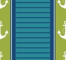 Trendy Nautical Stripe Design Sticker