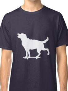 Skateboarding Dog Classic T-Shirt