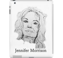 Jennifer Morrison iPad Case/Skin