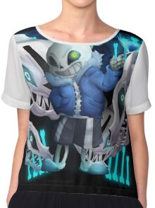 Ready to have a bad time Chiffon Top