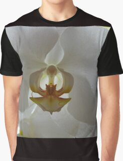 Backlit Orchid Graphic T-Shirt