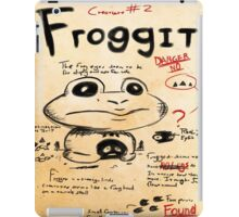 Froggit Journal page iPad Case/Skin