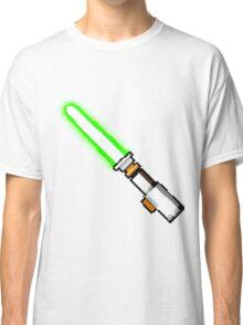 8bit lightsaber Classic T-Shirt