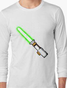 8bit lightsaber Long Sleeve T-Shirt