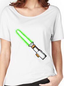 8bit lightsaber Women's Relaxed Fit T-Shirt