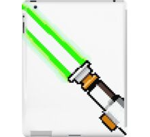 8bit lightsaber iPad Case/Skin