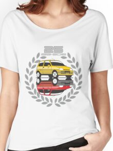 Fiat Cinquecento 25 years Women's Relaxed Fit T-Shirt