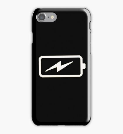Charging Battery iPhone Case/Skin