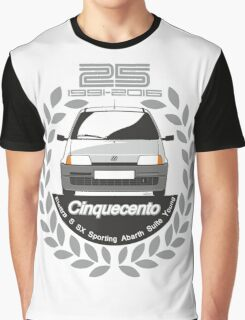 Fiat Cinquecento 25 years Graphic T-Shirt