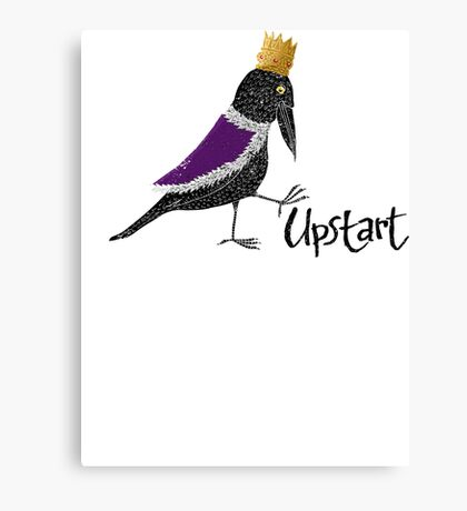 Upstart Crow Canvas Print