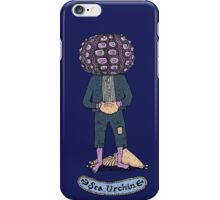 Sea Urchin Beach Boy iPhone Case/Skin