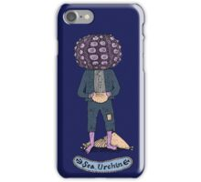 Sea Urchin Beach Boy iPhone Case/Skin