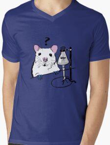 Chemistry Rat Mens V-Neck T-Shirt