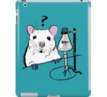 Chemistry Rat iPad Case/Skin