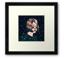 Close your eyes Framed Print