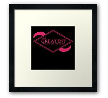 The Greatest Fan That Ever Lived Framed Print