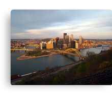 Daytime Pittsburgh Canvas Print