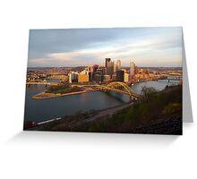 Daytime Pittsburgh Greeting Card