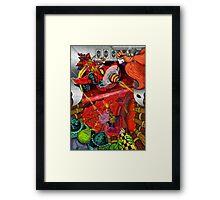 The Dwarf Baron Framed Print