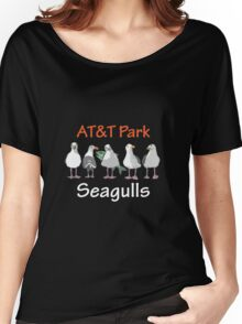 AT&T Seagulls Women's Relaxed Fit T-Shirt