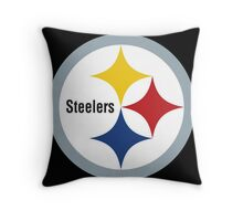 Steelers Symbol Throw Pillow