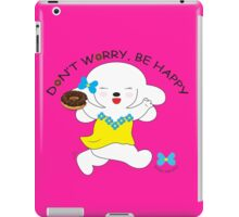 Don't Worry, Be Happy - Hot Pink iPad Case/Skin