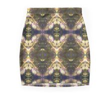 Space kaleidoscope with stars and glitter, abstract bubble design Mini Skirt