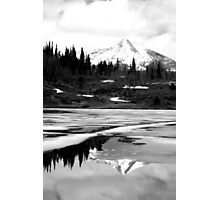 Reflective Mountain Photographic Print